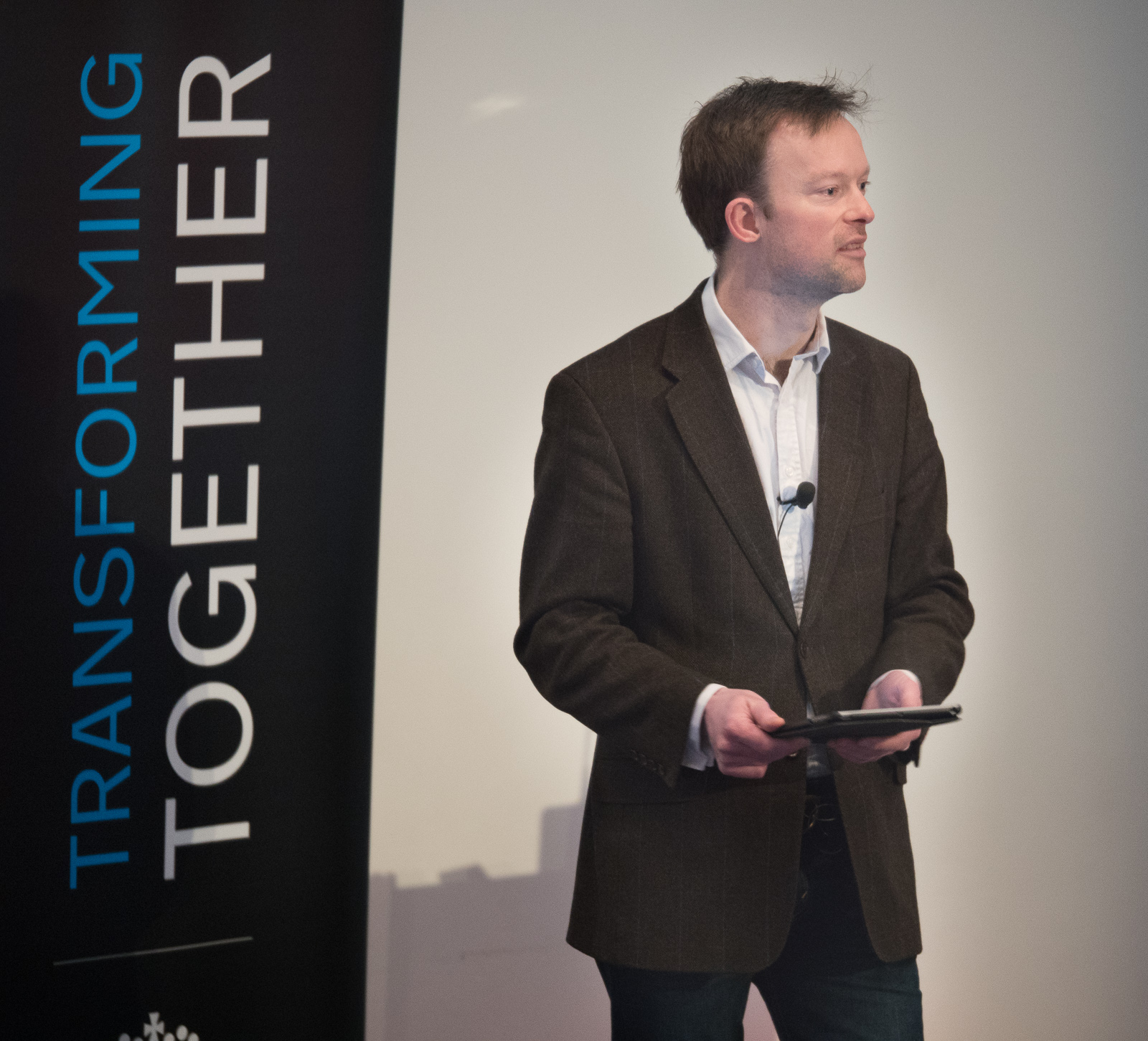 Richard Sergeant at Transforming Together