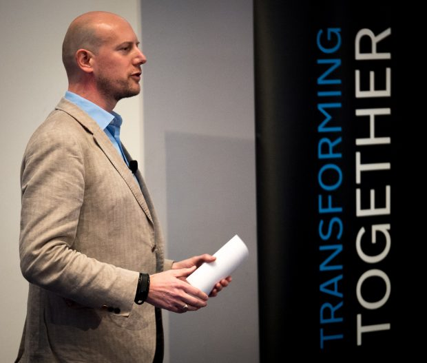Norman Driskell at Transforming Together