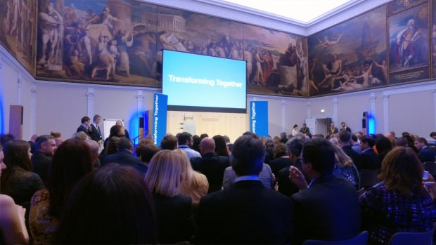 The Transforming Together audience at the RSA